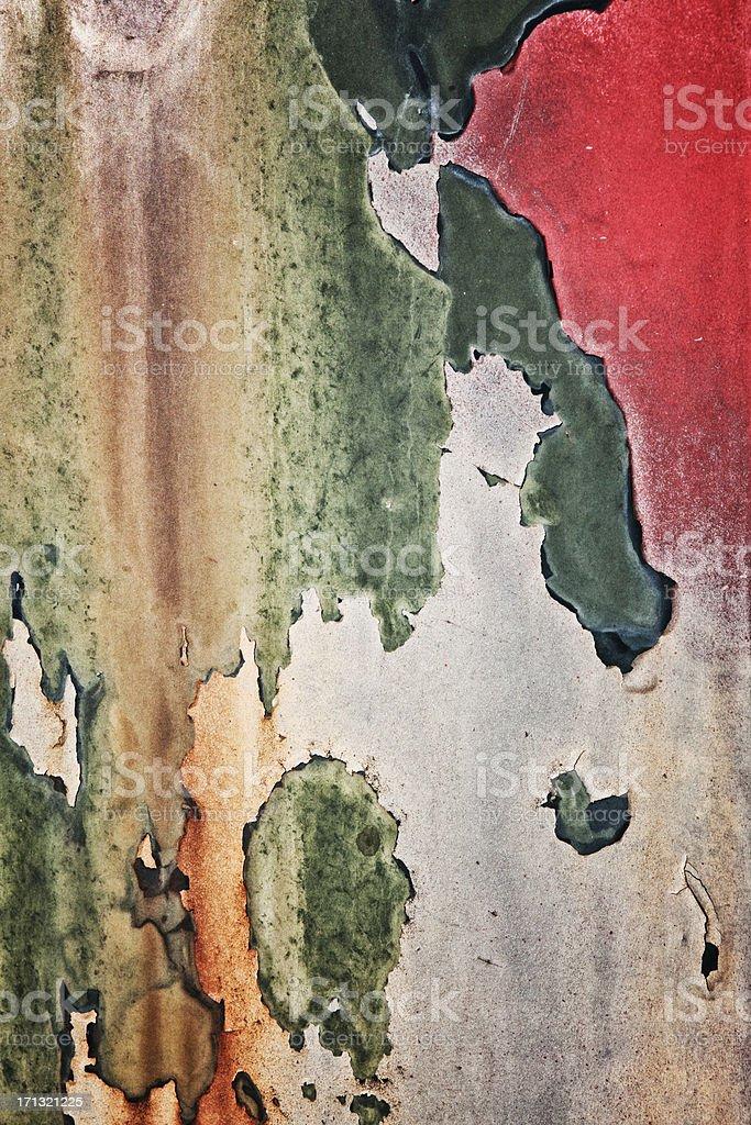 Peeling Paint Texture Background stock photo