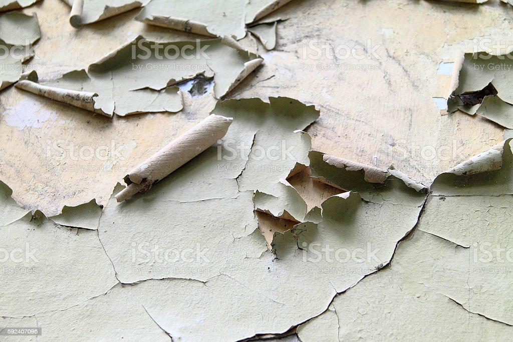 peeling paint wall close up stock photo