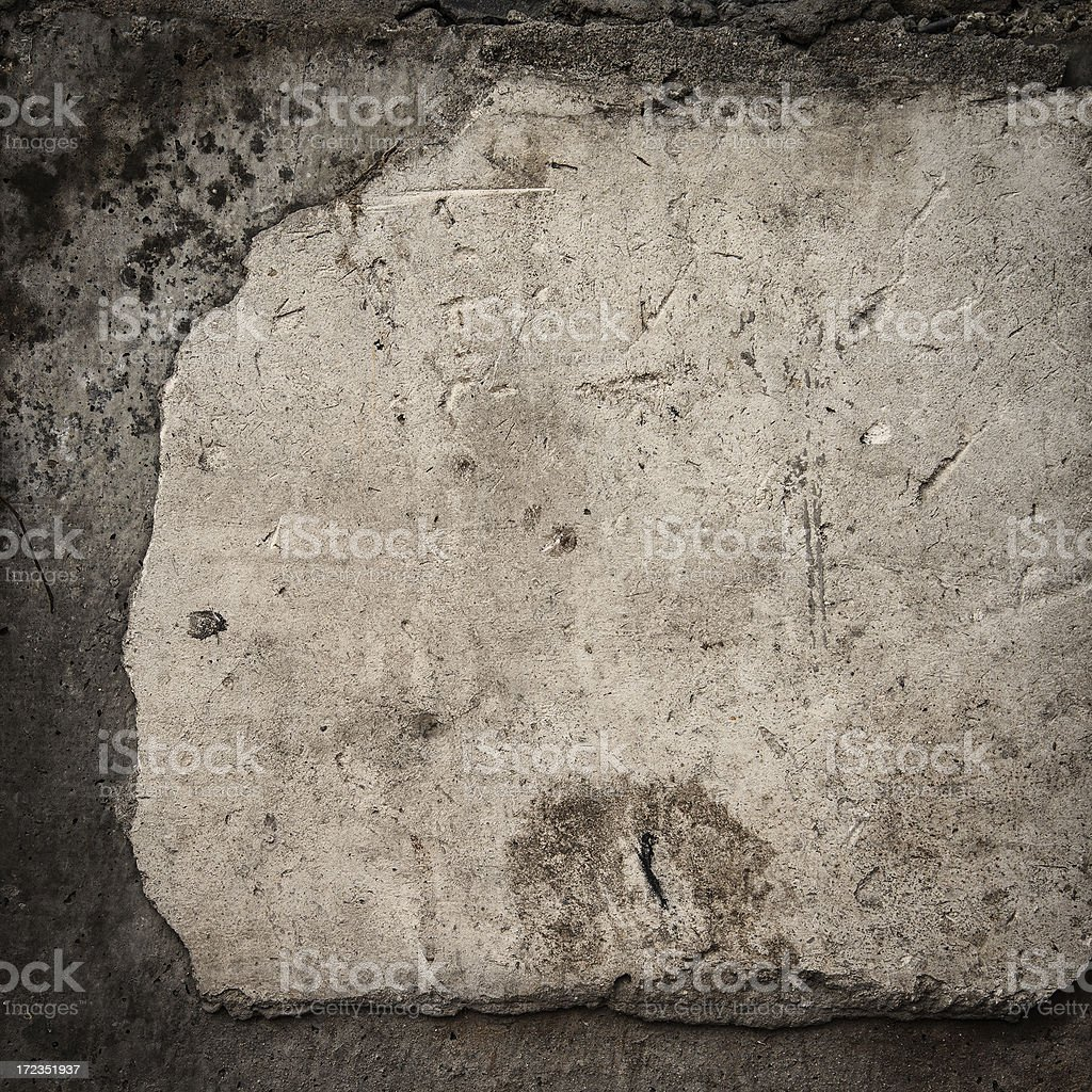 peeling wall royalty-free stock photo