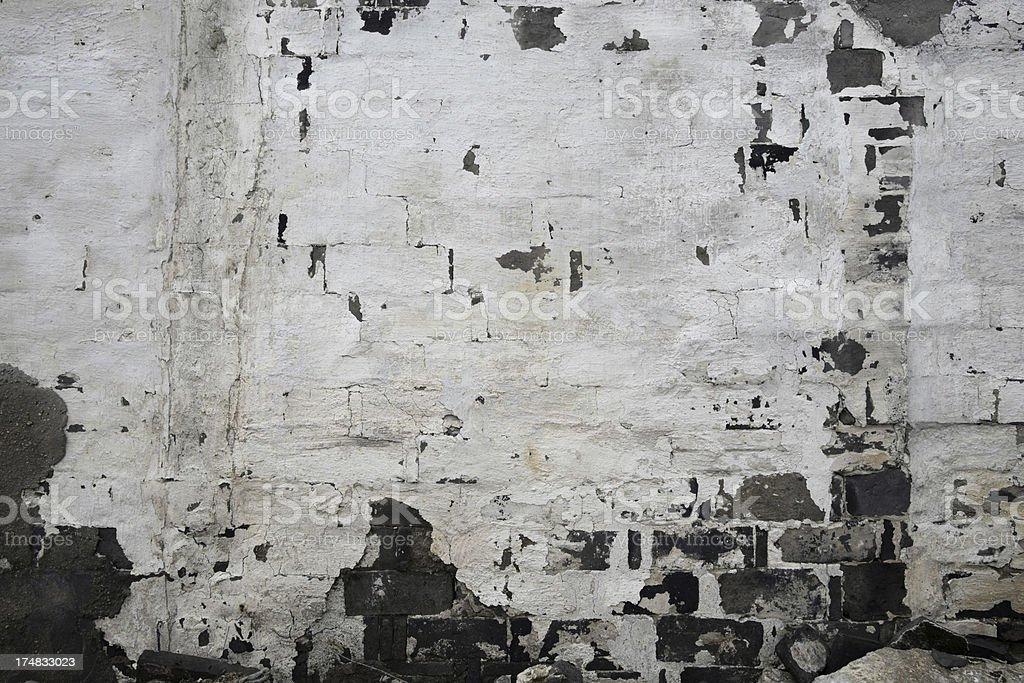 peeling wall stock photo