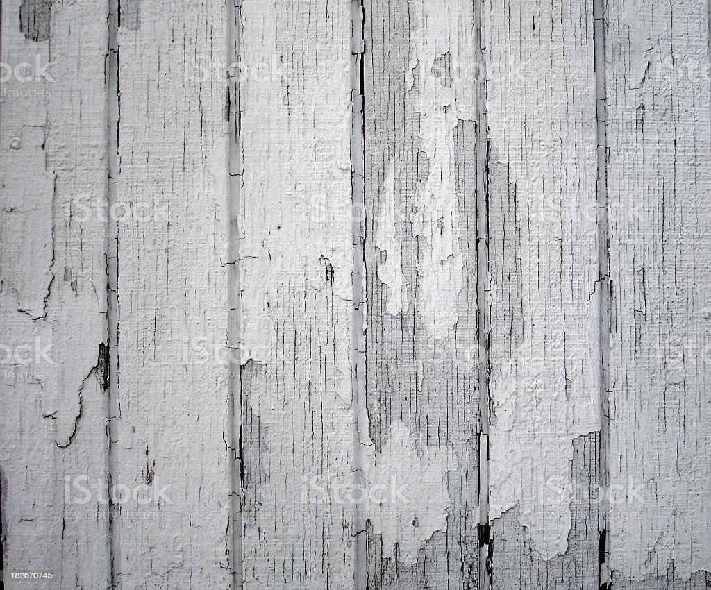 Peeling White Paint royalty-free stock photo