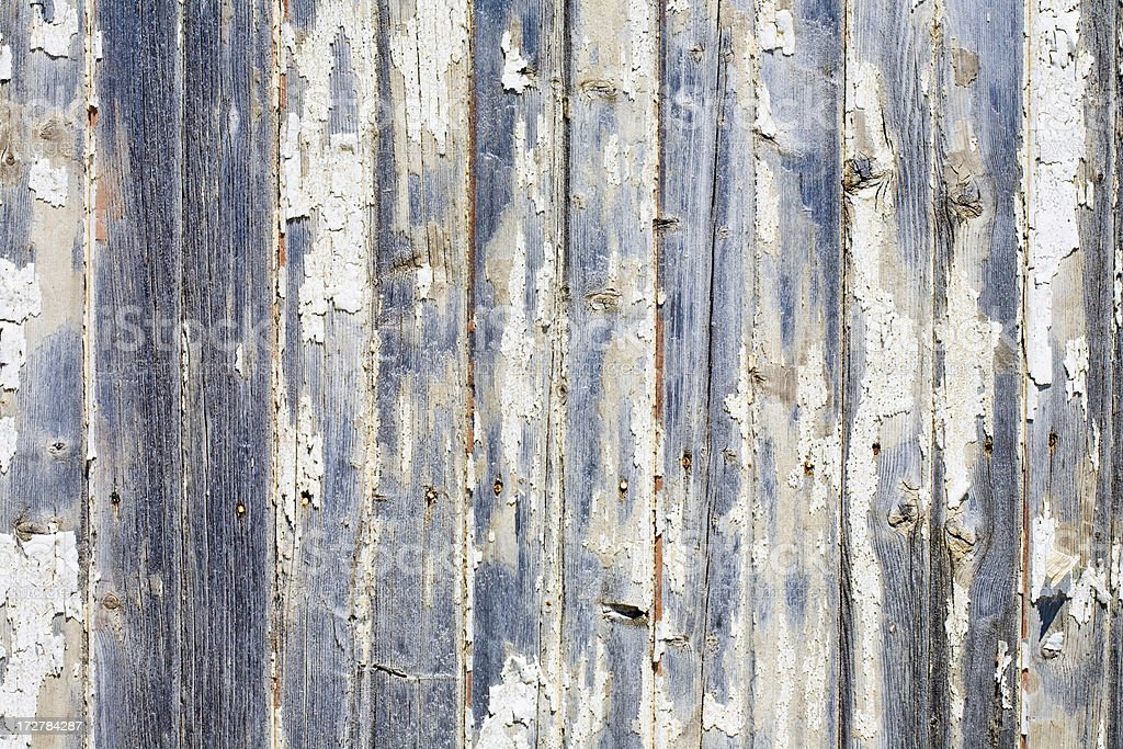 Peeling Wood Background (XL) stock photo