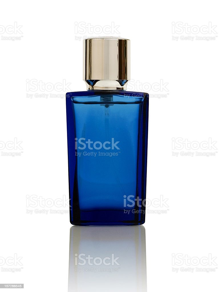Pefume bottle (with clipping path) stock photo