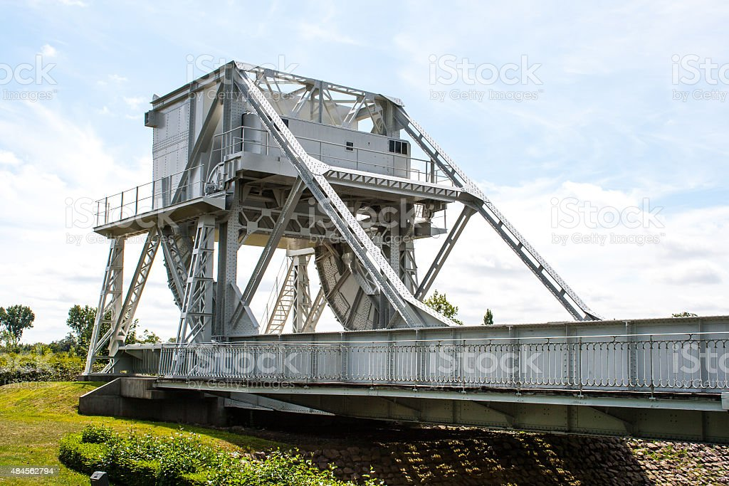 pegasus bridge in france second World War stock photo
