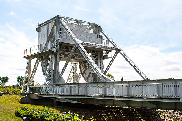 pegasus bridge in france second world war - pegasus stock photos and pictures