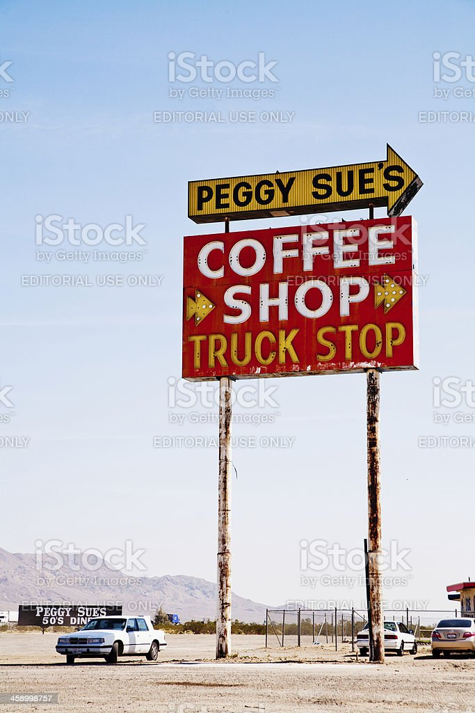 Peggy Sue's Diner royalty-free stock photo