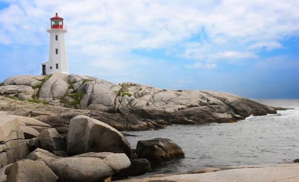 Peggy's Cove, Nova Scotia, Canada stock photo