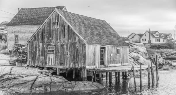 Peggy's Cove - Nova Scotia, Canada stock photo