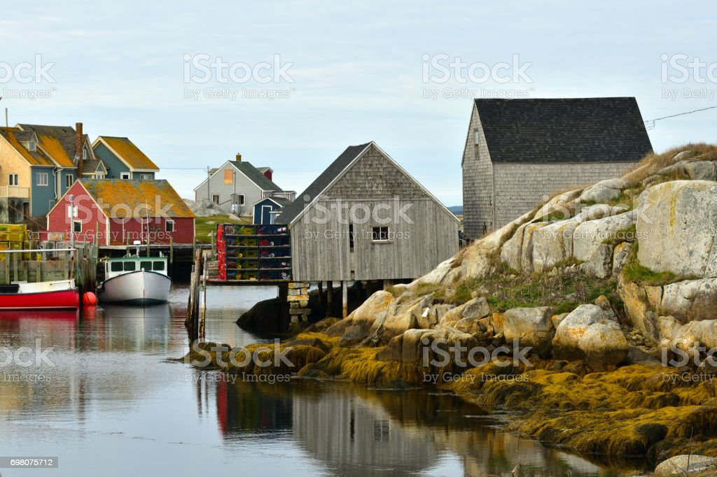 Peggy's Cove Nova Scotia Canada stock photo