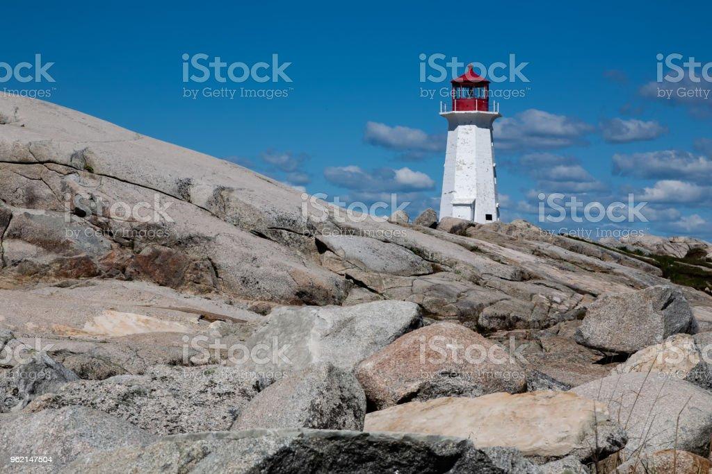 Peggys Cove Nova Scotia stock photo