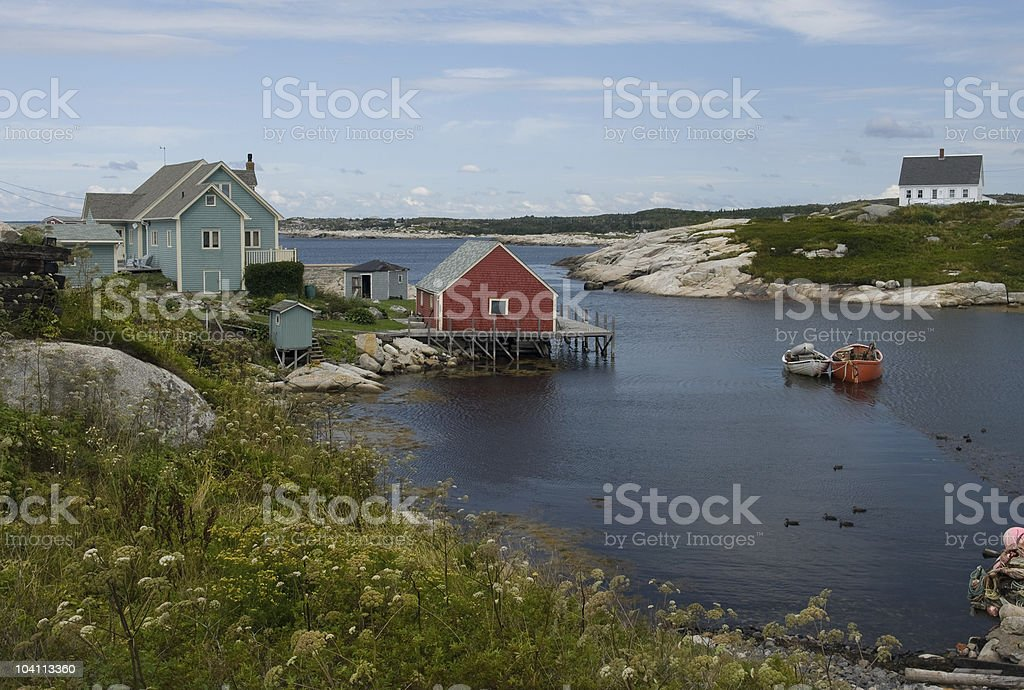 Peggys Cove royalty-free stock photo