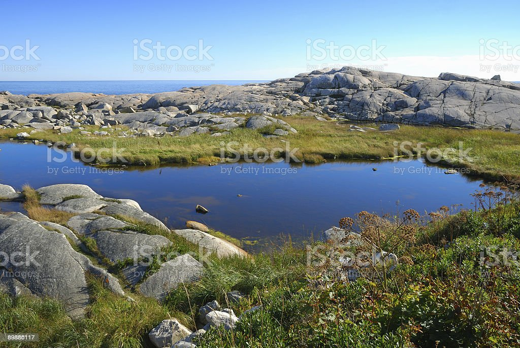 Peggy's Cove royalty-free stock photo