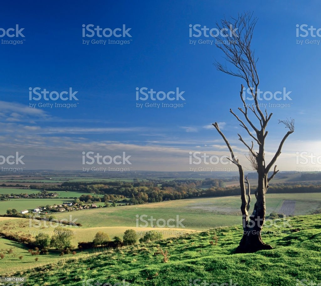 pegston hills stock photo