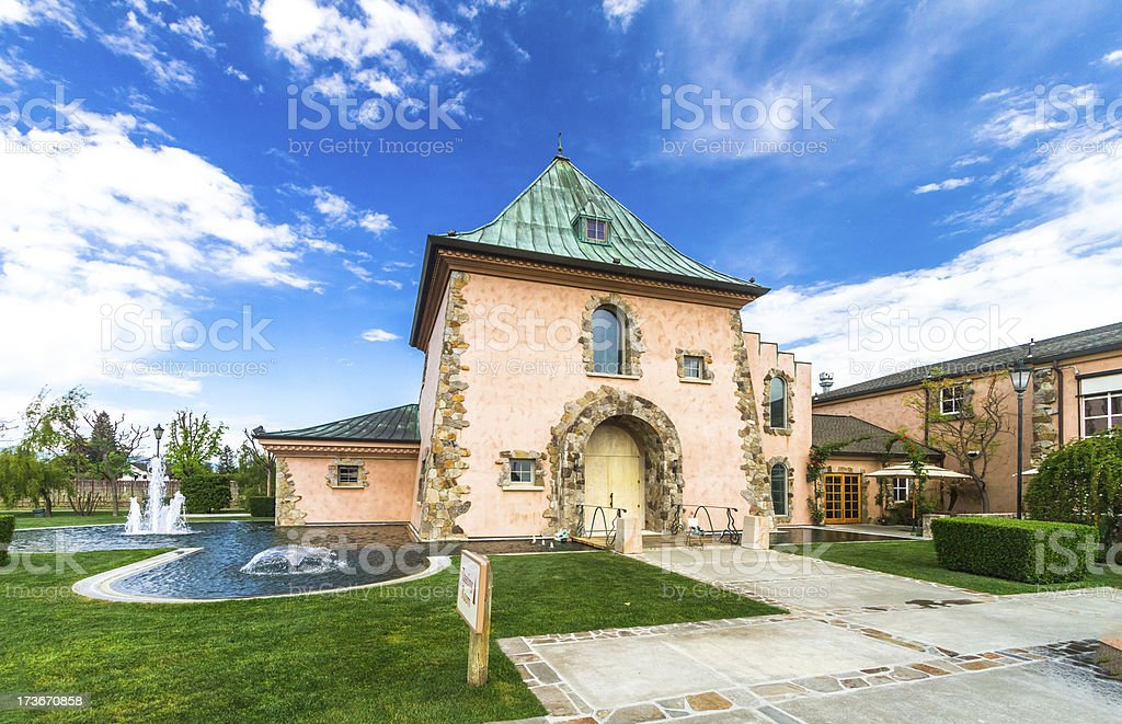 Peju Province Winery royalty-free stock photo