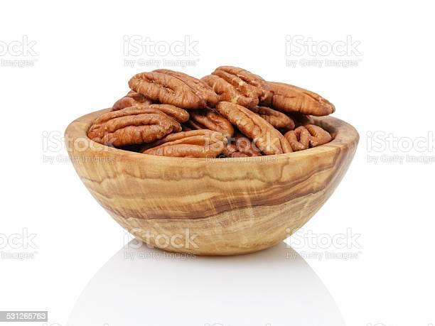Pekan nuts in wood bowl picture id531265763?b=1&k=6&m=531265763&s=612x612&h=keldmzthw1ydxsou0owhci3sqd ze4deimizx0vdahi=