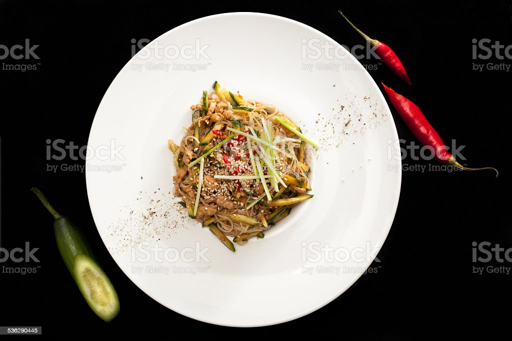 Pekin salad stock photo