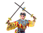 traditional chinese opera actor Portrait