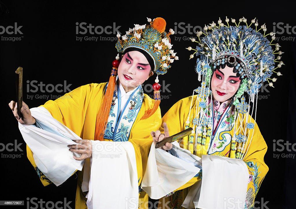 Peking opera stock photo