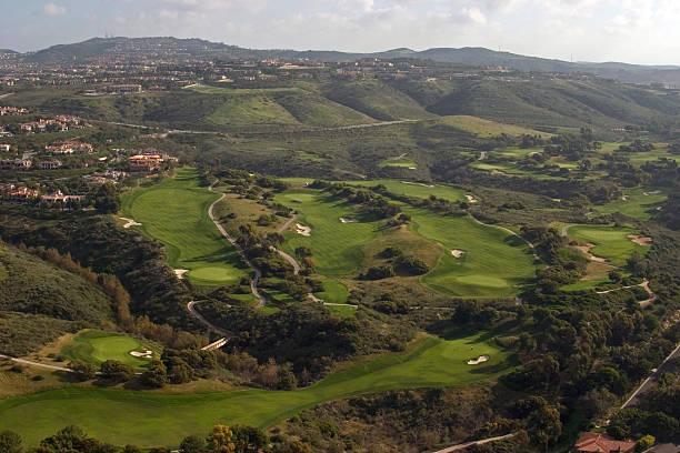 Campo de Golf Pelican Hill - foto de stock