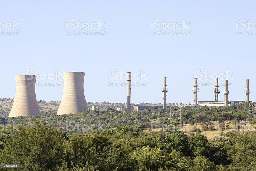 Pelindaba Power Station royalty-free stock photo