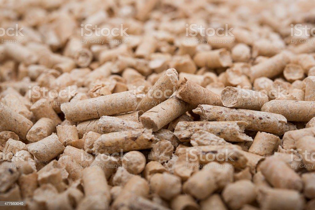 Pellets Biomass stock photo