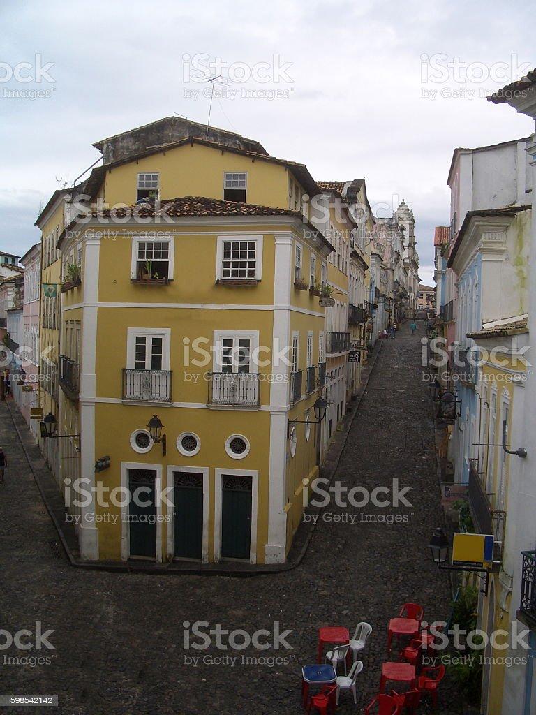 Pelourinho in Salvador, Bahia, Brazil. photo libre de droits