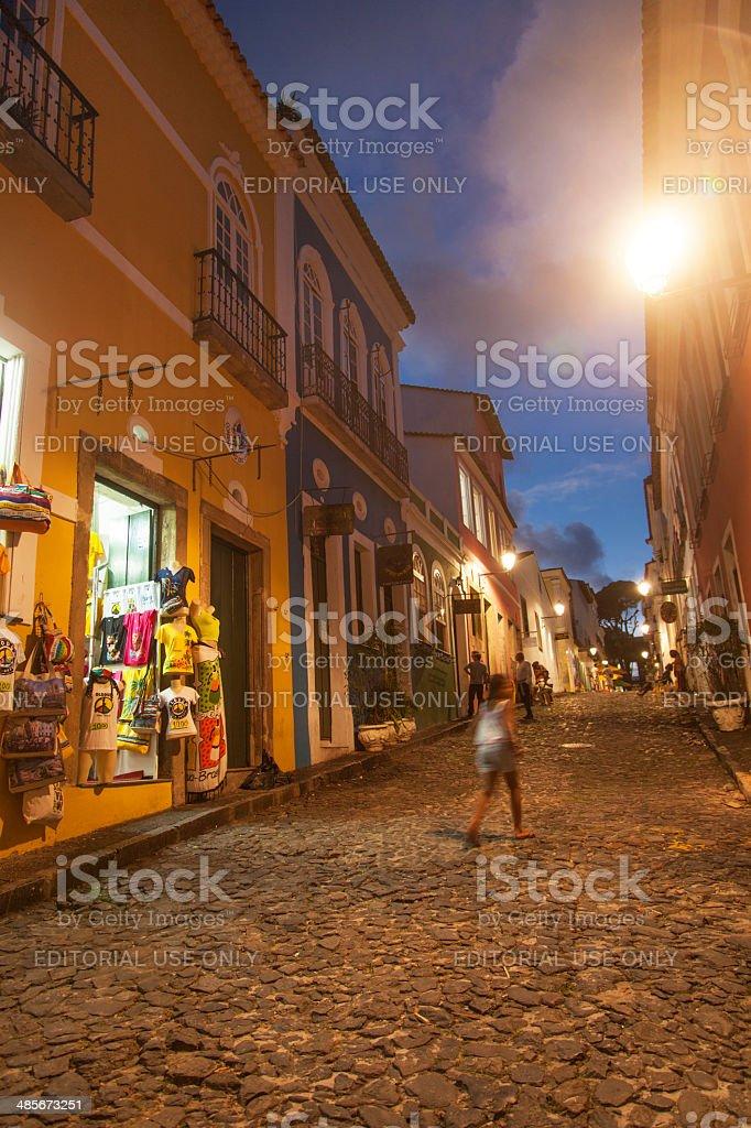 Pelourinho de Salvador, na Bahia - foto de acervo