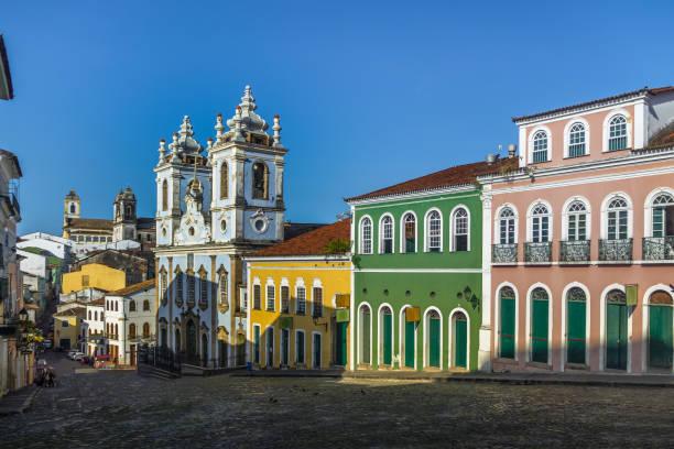 Pelourinho - Salvador, Bahia, Brazil stock photo