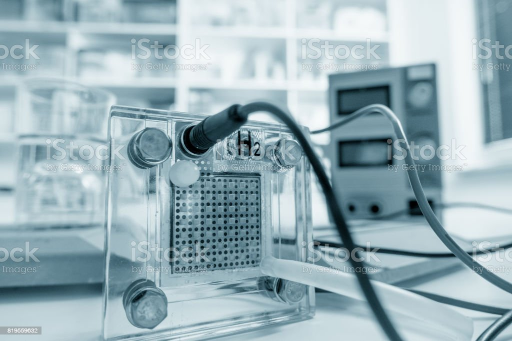 Pem fuel cell stock photo