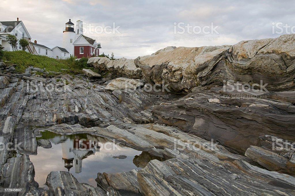 Pemaquid Lighthouse royalty-free stock photo