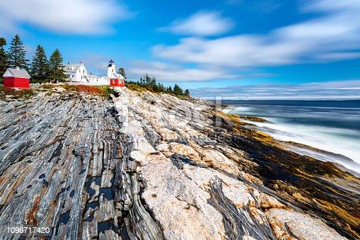 istock Pemaquid Point Light in Maine 1096717420