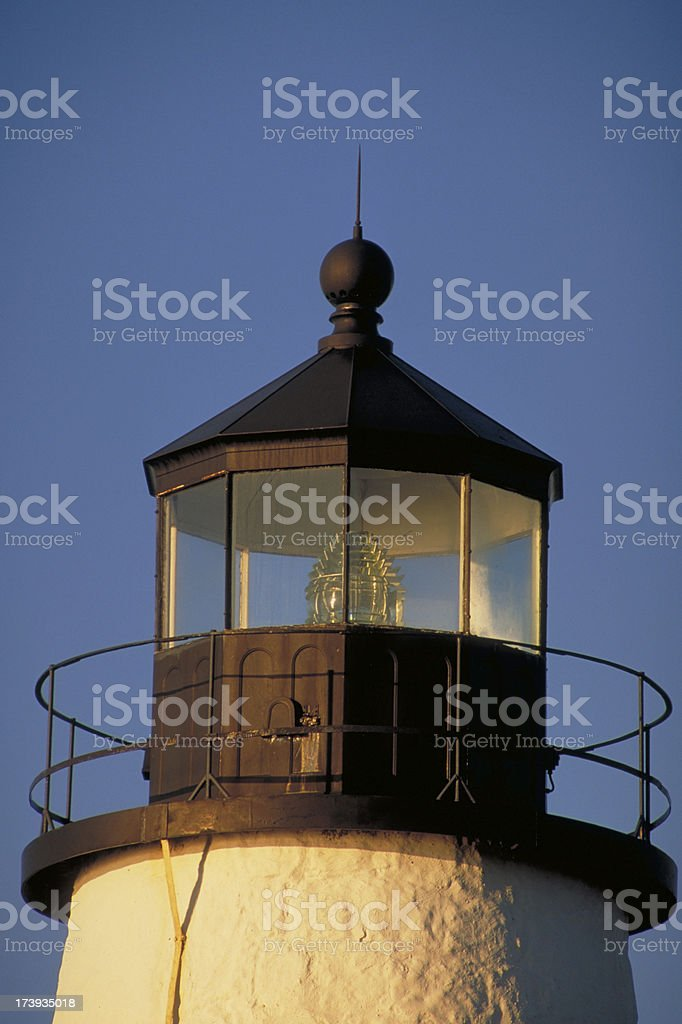 Pemaquid Point Lighthouse at Dawn royalty-free stock photo