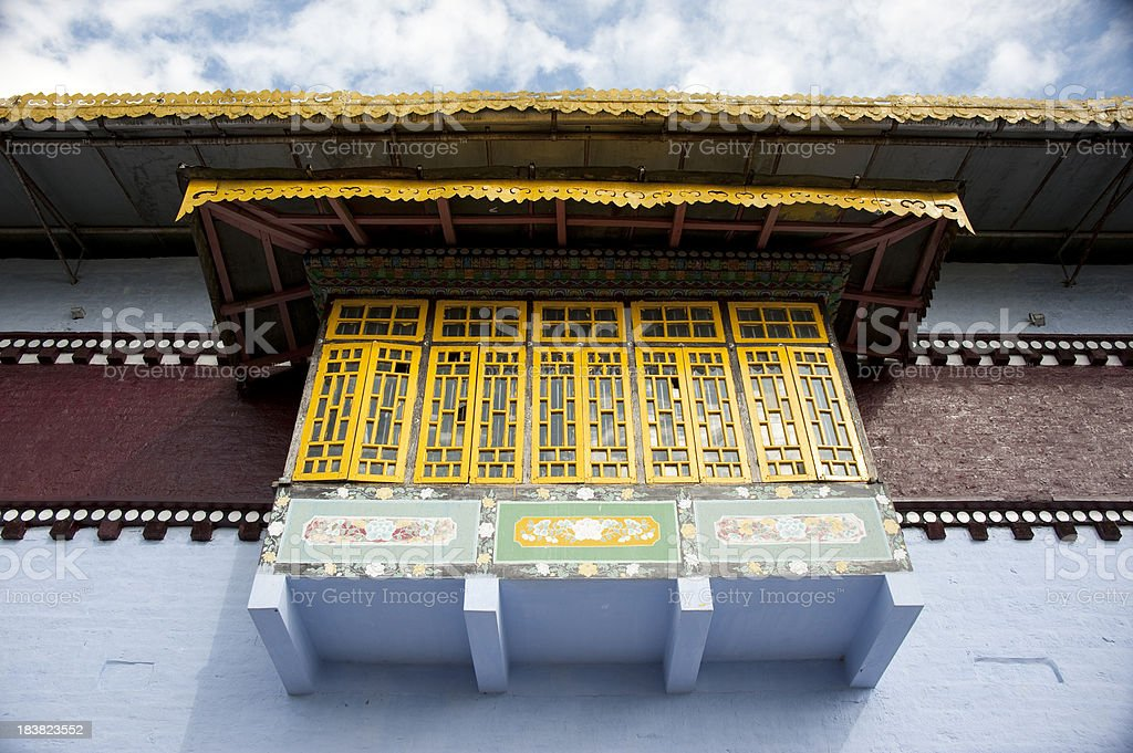 Pemayangtse Monastery royalty-free stock photo