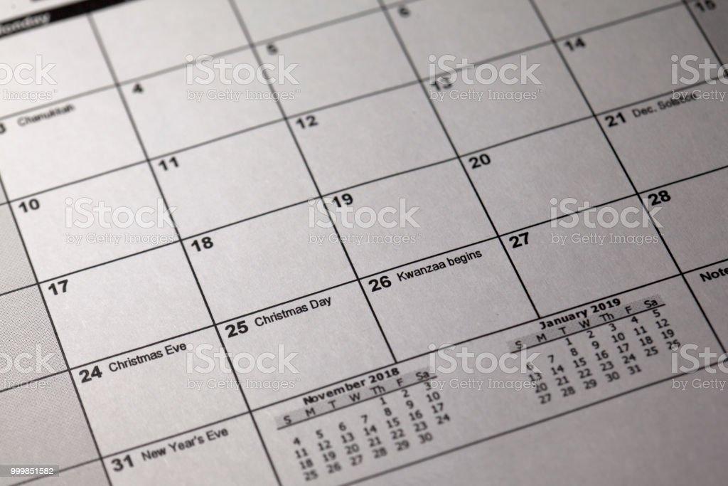 Ist Weihnachten Am 24 Oder 25.Stift Und Desktopkalender 24 Und 25 Th Dezember 2018 Heiligabend Und