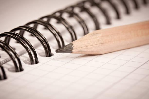 Stift und Notizbuch – Foto