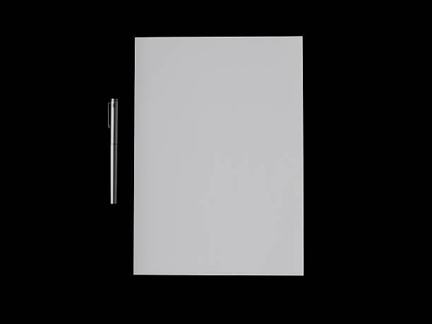 Stift und Papier – Foto