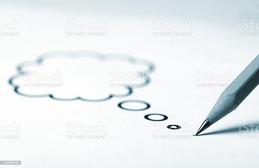 pen ideas royalty-free stock photo