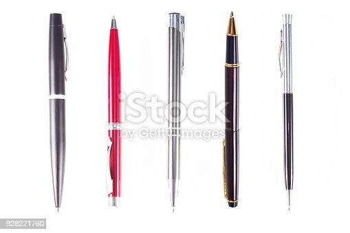 istock Pen isolated white background 928221760