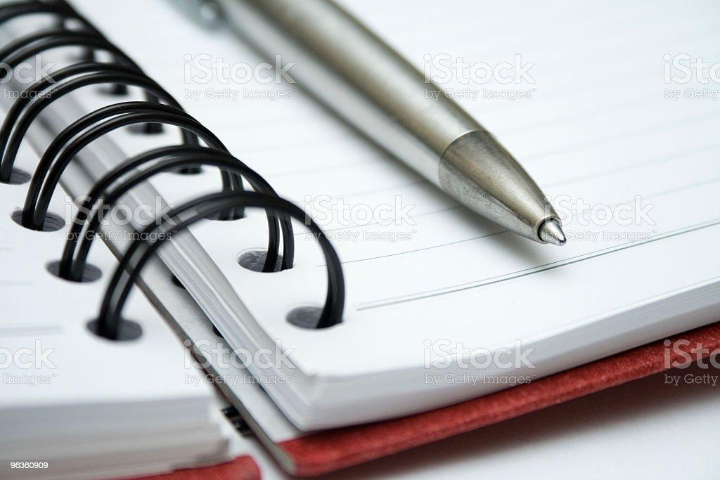 Pen & Notebook royalty-free stock photo