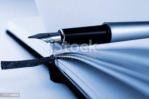 istock Pen on the notebook 171146856