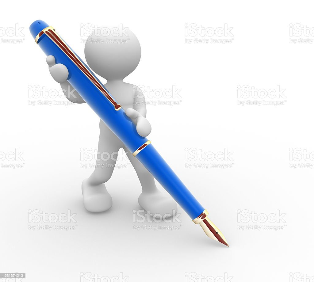 Pen stock photo