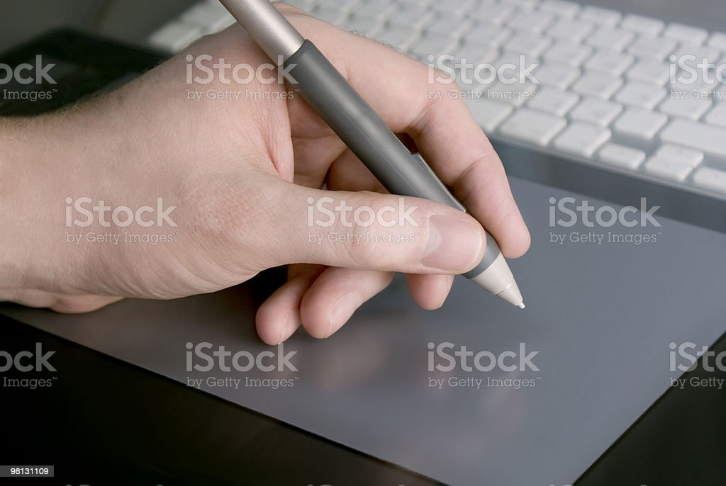Pen royalty-free stock photo