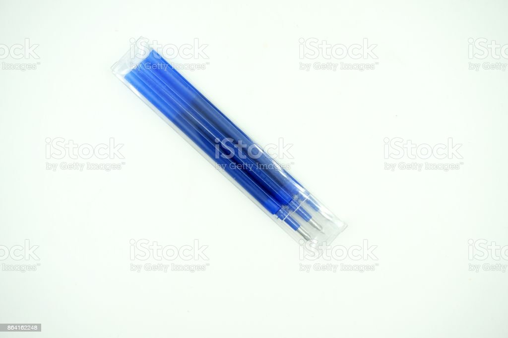 Pen refill royalty-free stock photo