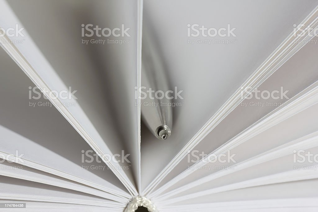 pen with notebook royalty-free stock photo