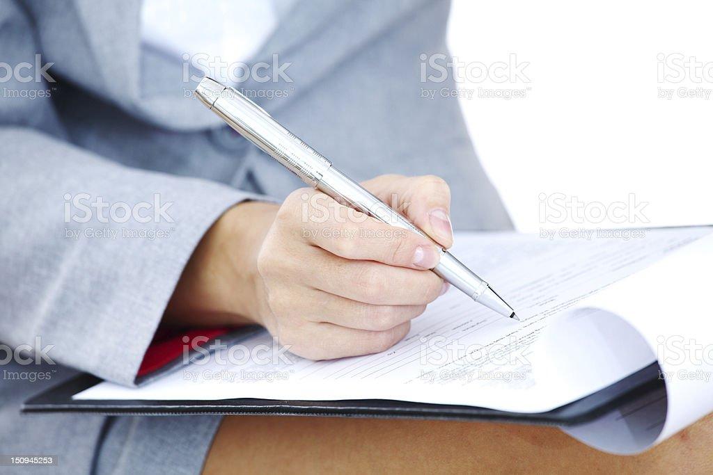pen write royalty-free stock photo