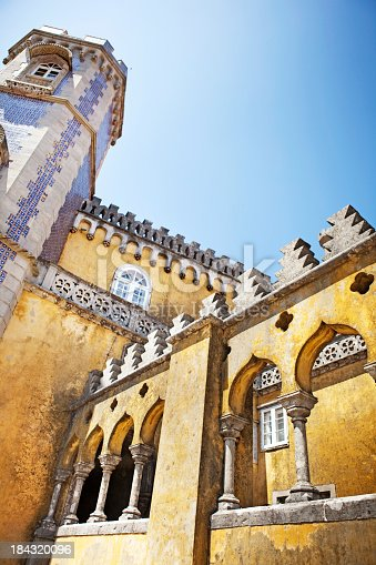 Pena National Palace, Sintra. Portugal