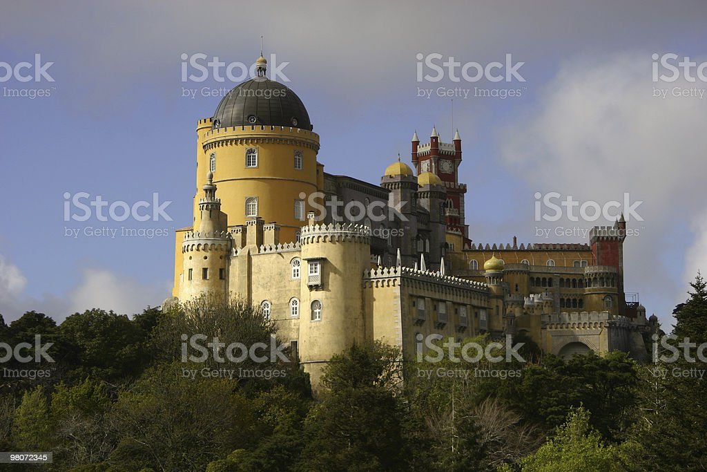 Palácio da Pena (Lisbon) royalty-free stock photo