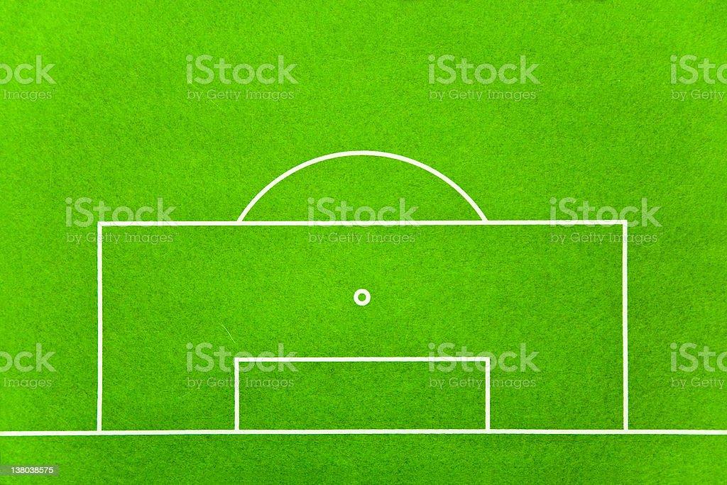 penalty box strafraum stock photo