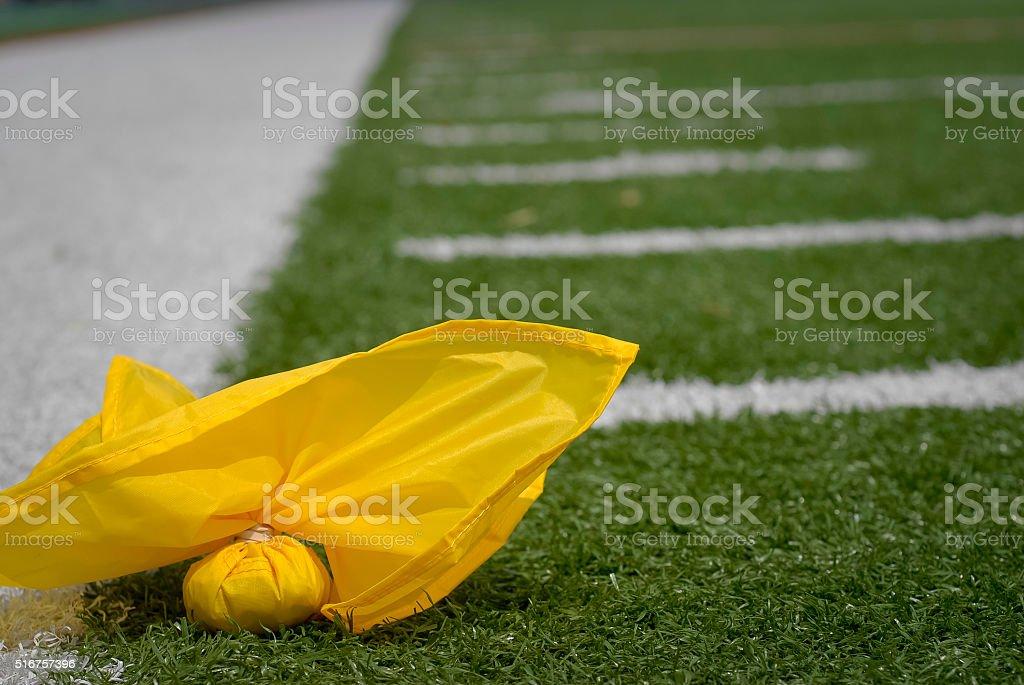 Penalty Flag stock photo