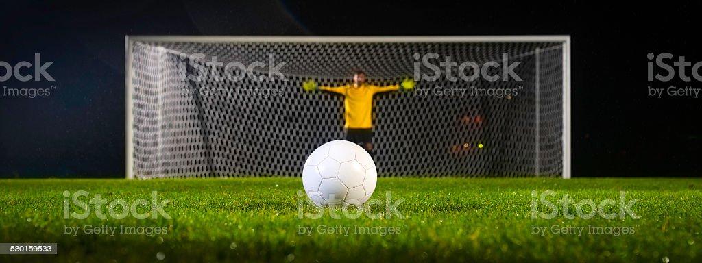Penalty Kick stock photo